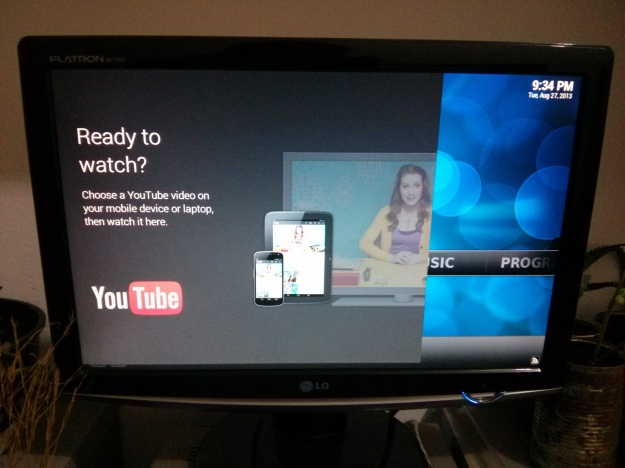 XBMC and Youtube app